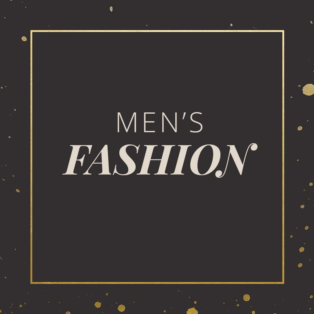 MEN'S FASHION BLOCK